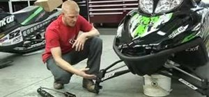 Improve suspension for snowmobiles