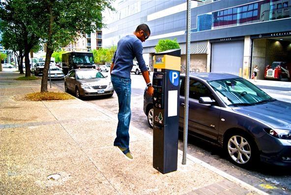 Levitation Challenge: Parking Meter