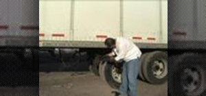 Drive an eighteen-wheeler truck with these safety tips