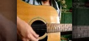 "Play ""American Girl"" on you acoustic guitar"