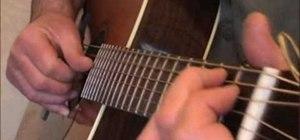"Play Eric Clapton's ""Hey Hey"" on acoustic guitar"