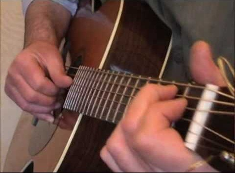 "Play Eric Clapton's ""Hey Hey"" on acoustic guitar - Part 1 of 3"