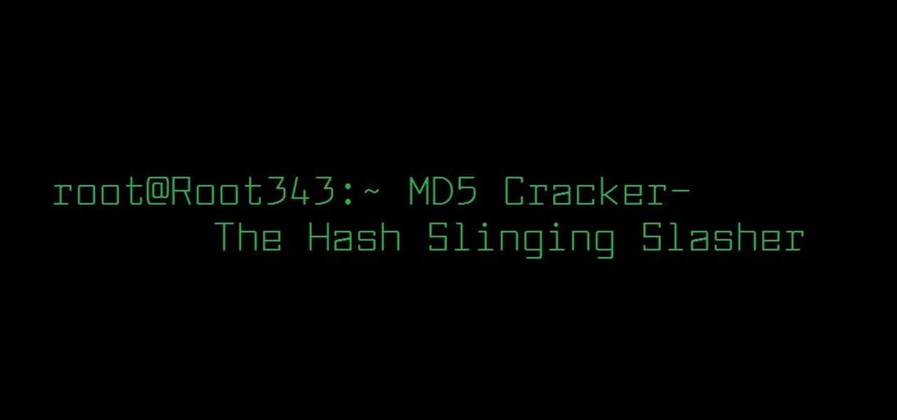 Crack MD5 Hashes with All of Kali Linux's Default Wordlists