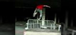 Backslide a rail