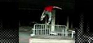 Backslide a rail
