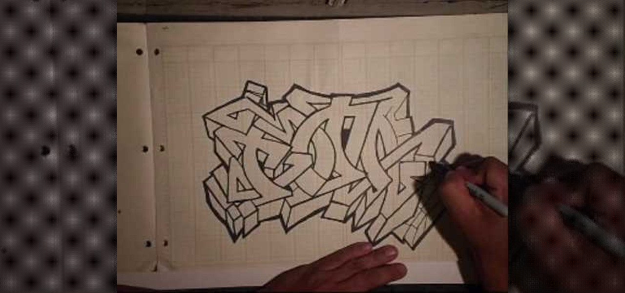 Cool Designs To Draw On Your Binder How to Draw a cool graffiti