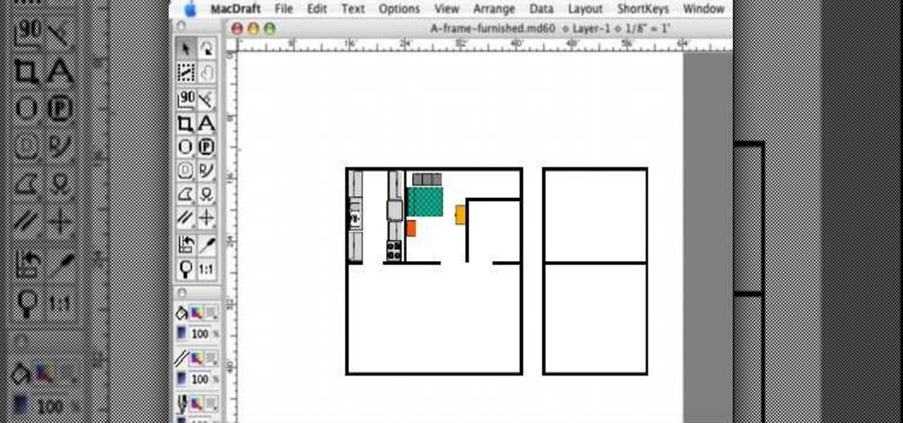 make a floor plan how to create a fully furnished floor plan with macdraft 20517