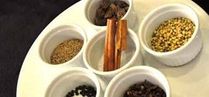 Make Indian garam masala (Indian spice mix)