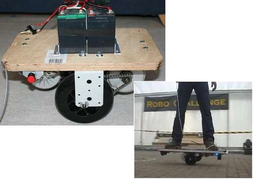 HowTo: Build a Self Balancing Segway-Skateboard