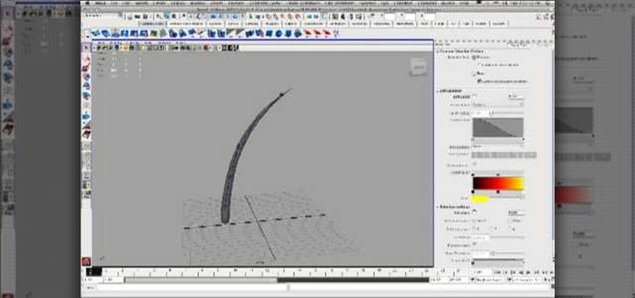 How to Drive a joint chain dynamically in 3D using Maya « Maya