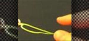 Tie a Homer Rhode Loop knot