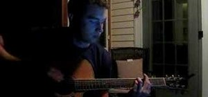"Play ""Hero"" by Nickelback on acoustic guitar"