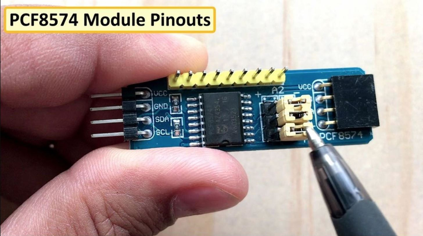PCF8574 GPIO Extender - with Arduino and NodeMCU « How to