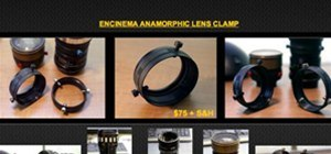 Shoot Anamorphic with a Clamp?
