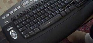 Thoroughly clean your keyboard