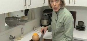 Quickly prepare a butternut squash