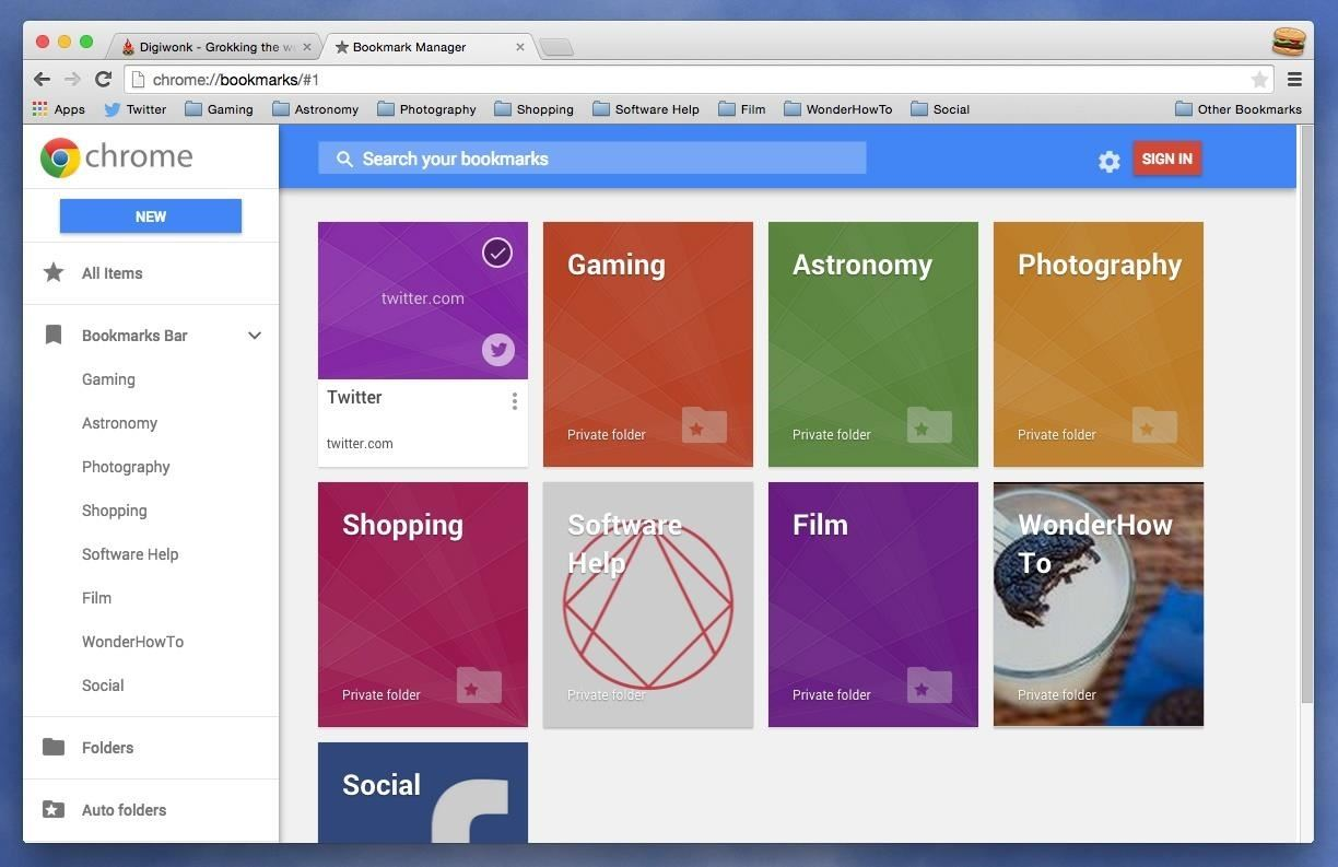 How to Get Back the Old (& Better) Bookmarks Manager in Chrome