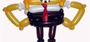 Balloon Animal Sponge Bob
