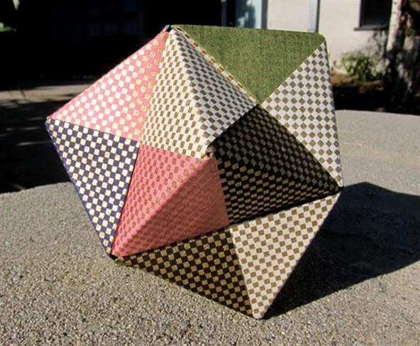 Math Craft Monday: Community Submissions (Plus How to Make a Sliceform Hyperbolic Paraboloid)