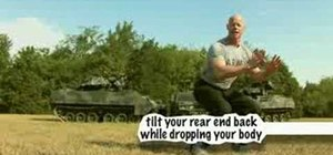 Do army style squats