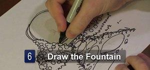 Draw a rose garden