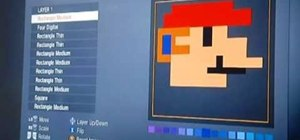 Create an 8-bit Mario emblem in Call of Duty: Black Ops