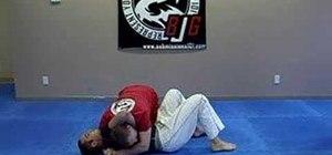 Do a Jiu Jitsu Von Flue choke