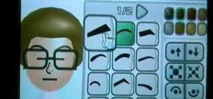 Make a Napoleon Dynamite Mii on Nintendo Wii