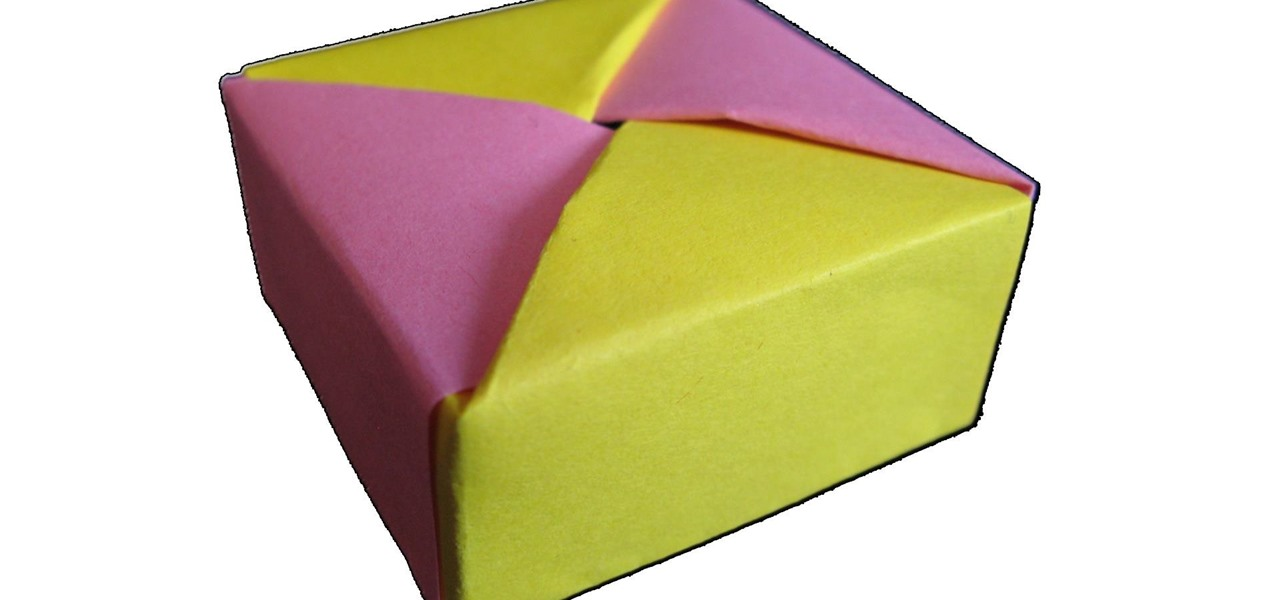 Make Origami Box with Lid