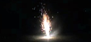 Make a Sparkler Fountain Over 3 Meters High