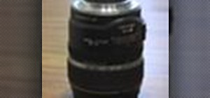 Clean a camera lens & get rid of smudges