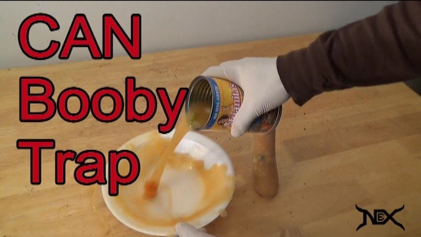How to Booby Trap a Can of Soup with a Condom!