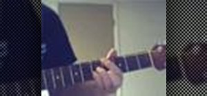 Play jazz chords on the acoustic guitar