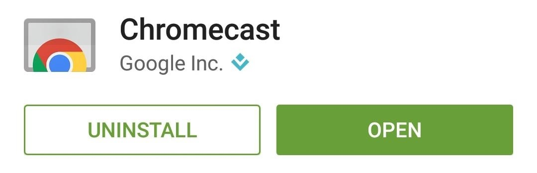 how to delete cast from android