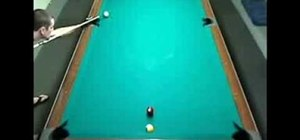 Do the Spot Drill when playing pool