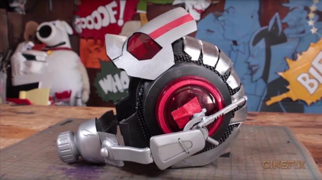 How To Build Ant Man S Helmet Amp Suit For Halloween