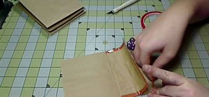 Craft a kraft paper bag album for scrapbooking