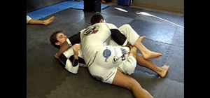Do The Rocker, a deep half sweep to pass to side control in MMA