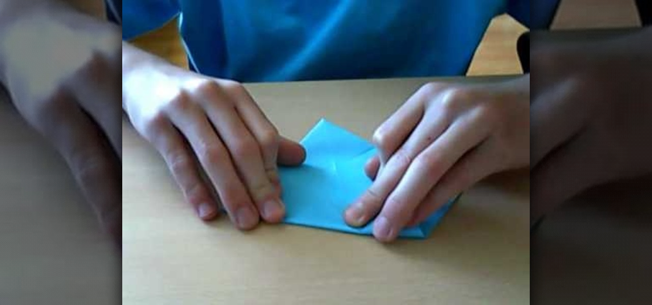 How To Fold A Beautiful Blue Origami Sun Origami Wonderhowto