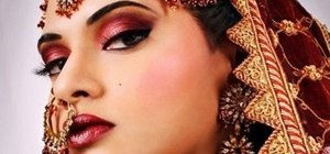Get a Bollywood bride inspired makeup look