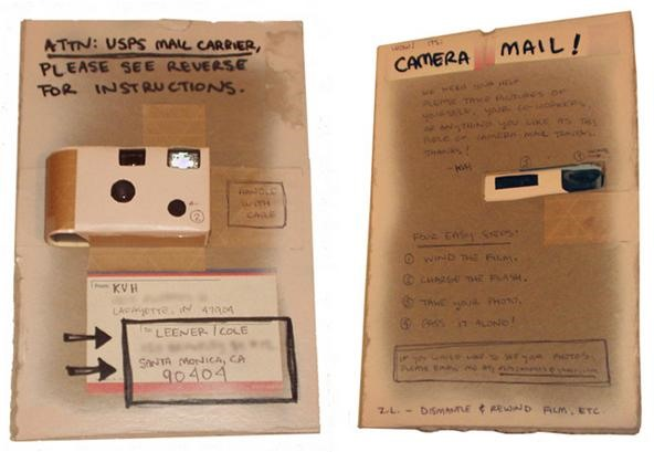 "Disposable ""CameraMail"" Reveals the Inner Workings of the Post Office"