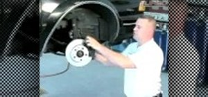 Change the brake pads on your car