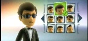 Make a James Bond avatar on the Xbox 360