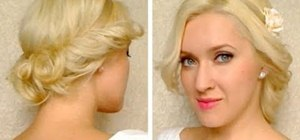 Give yourself a summer greek goddess hairstyle