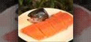 Fillet a salmon