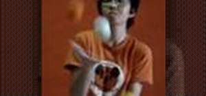 Learn some of the juggling hand movements