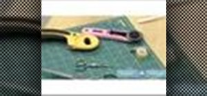 Know materials and supplies needed for sewing