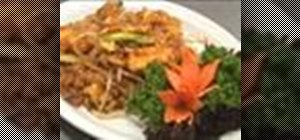 Make an Asian dish called Pad Thai Jay