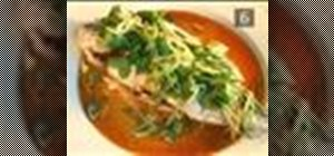 Make sea bass with ginger
