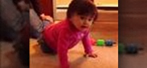 Know when your baby is ready to crawl
